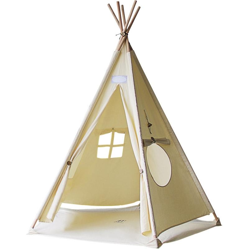 【送料無料】 シフラス リトルティピー GF-SF09 【育児 子育て 室内テント クッション 工具不要 組み立て 子供用 窓 遊具】