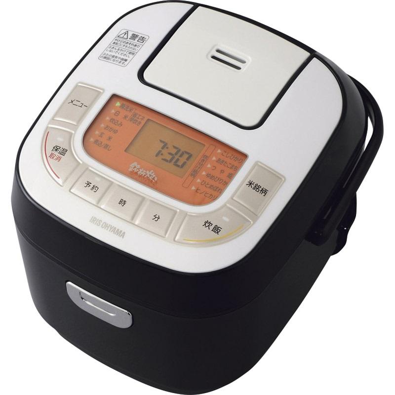 【送料無料】 アイリスオーヤマ 米屋の旨み 銘柄炊きジャー炊飯器3合 RC-MB30-B 【3合 げんまい ふた丸洗い ふっくら 一人暮らし 夫婦 大火力 おいしい 焚き分け機能 ごはん】