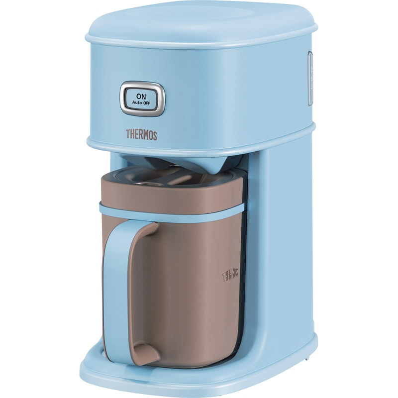 【送料無料】 サーモス アイスコーヒーメーカー ミントブルー ECI-660 MBL 【魔法瓶 アイスコーヒー 予約 さーもす おいしい 保冷 さわやか 冷たい 長持ち】