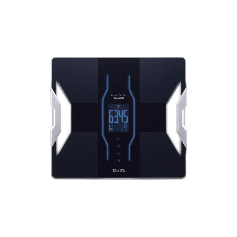 【送料無料】 タニタ デュアルタイプ体組成計 インナースキャンデュアル ブラック RD907BK 【体重計 筋肉量 スマホ アプリ 連携 体脂肪率 薄い 記録 基礎代謝 健康 体調管理】[tr]