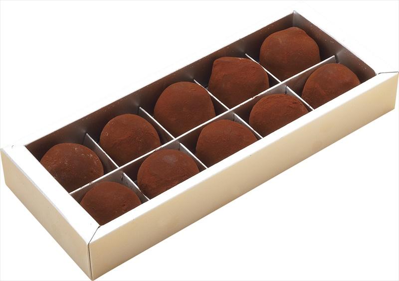 札幌欧風洋菓子エル・ドール ロール&生トリュフ100 【チョコトリュフ ロールケーキ チョコ スイーツ ケーキ いちご】