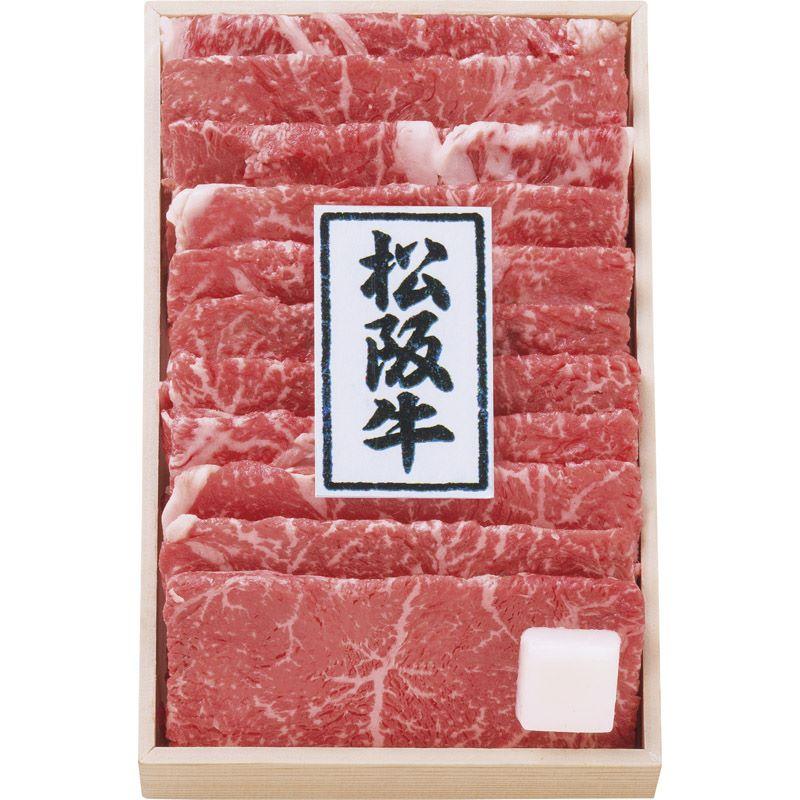 【送料無料】 松阪牛 すき焼き肉(折箱入) 2473-200c 【冷凍 和牛 すき焼き 濃厚 旨味 コク うまい 美味しい 松阪牛】