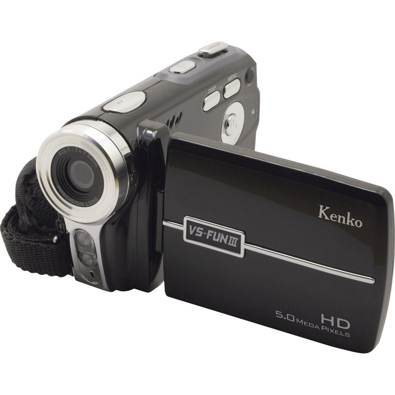 【送料無料】ケンコー カンタンデジタルハイビジョンムービーカメラ VS-FUN