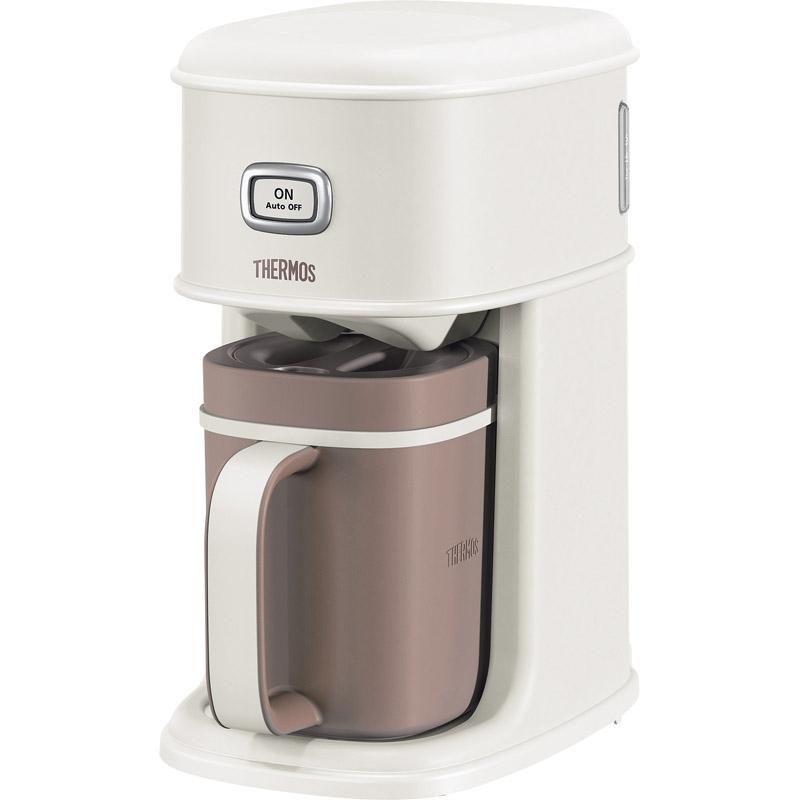 【送料無料】サーモス アイスコーヒーメーカー バニラホワイト ECI-660 VWH