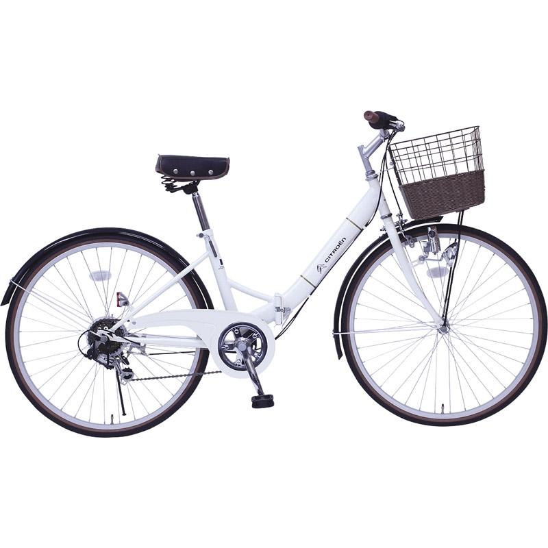 【送料無料】 シトロエン シティFDB266SG MG-CTN266G【自転車 おりたたみ 軽量 人気 26インチ】