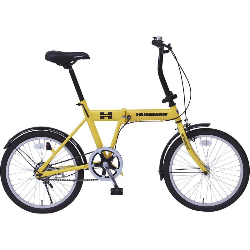 【送料無料】 ハマー FDB20G MG-HM20G【自転車 おりたたみ 軽量 人気 20インチ】