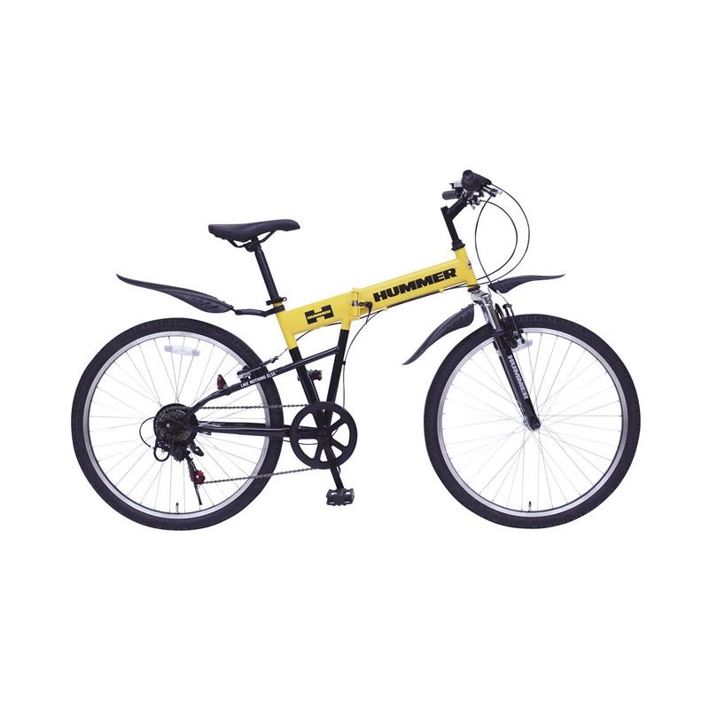 【送料無料】 ハマー FサスFD-MTB266SE MG-HM266SE【自転車 おりたたみ 軽量 人気 26インチ】