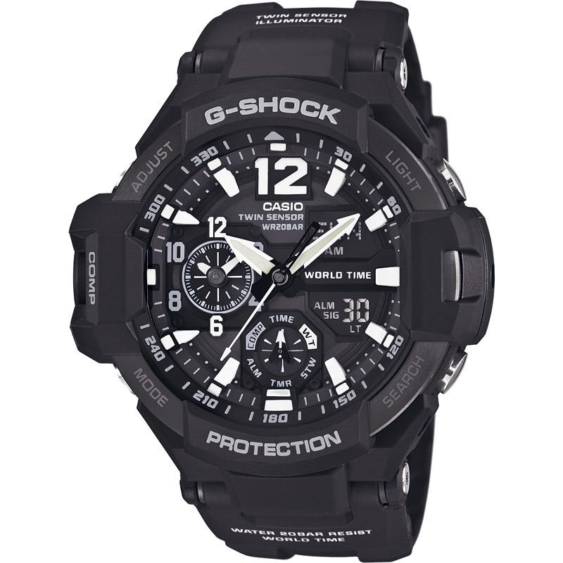【送料無料】 カシオ G-SHOCK グラウ゛ィティマスター GA-1100-1AJF【アウトドア スポーツ レジャー 腕時計 g-shock あなろぐ 】