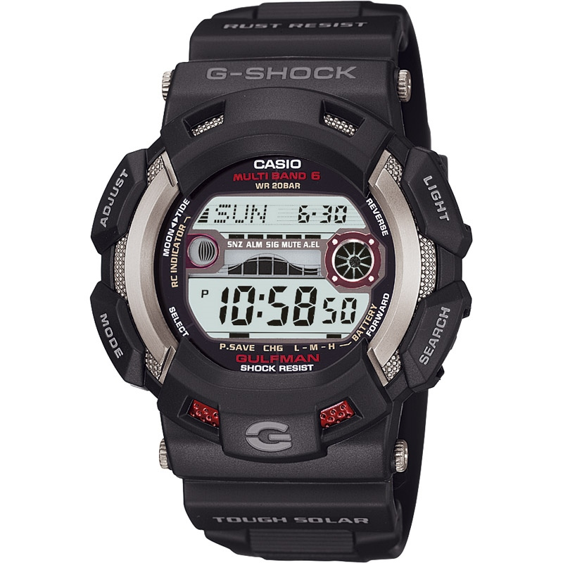 【送料無料】 カシオG-SHOCK MASTER OF G ガルフマン GW-9110-1JF【アウトドア スポーツ レジャー 腕時計 g-shock デジタル】