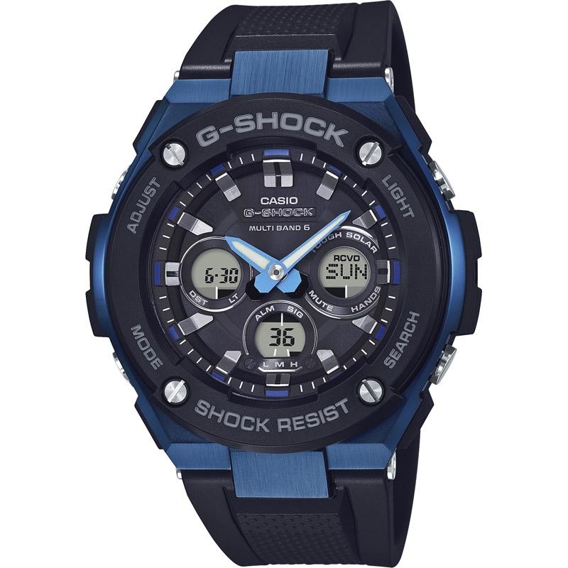 【送料無料】 カシオ G-SHOCK Gスチール 電波ソーラー GST-W300G-1A2JF【アウトドア スポーツ レジャー 腕時計 g-shock あなろぐ 】