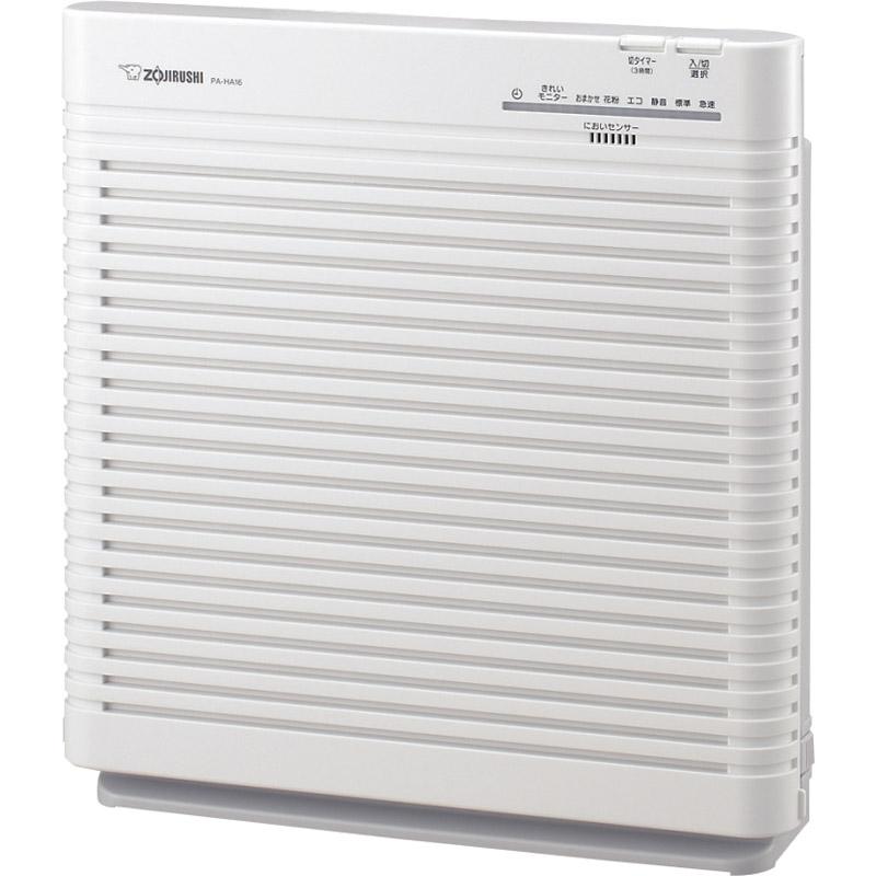 【送料無料】 象印 空気清浄機 PA-HB16-WA【家電 空気清浄機 タバコ フィルター におい取り 除菌 象印】