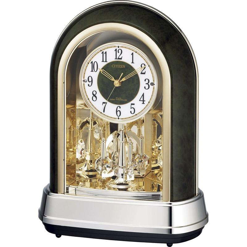 シチズン 電波置時計 4RN427-005【置き時計 電波時計 おしゃれ ステップ秒針 シチズン アナログ】[tr]