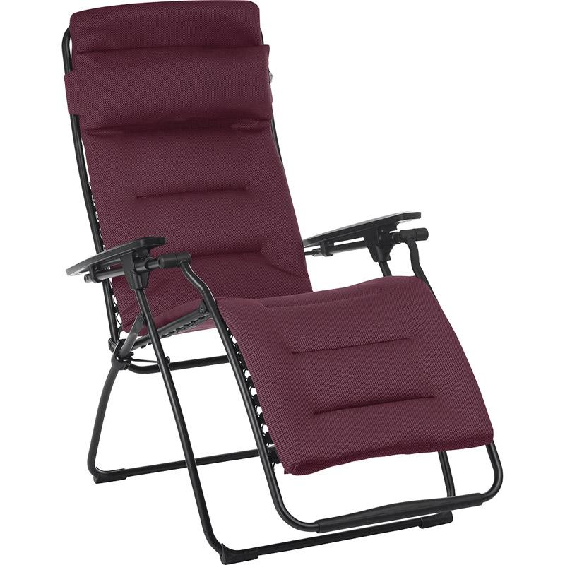 【送料無料】 ラフマ リクライニングチェア ワインレッド LFM3110【家具 椅子 おしゃれ 折りたたみ チェア リラックス リクライニング 】