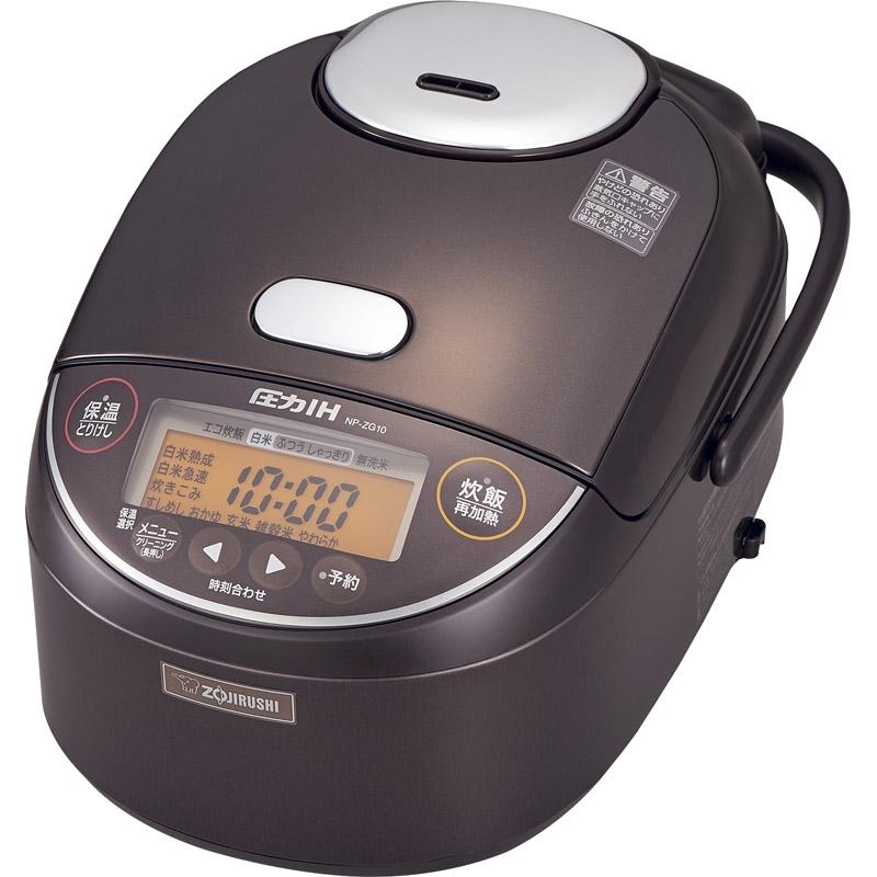 【送料無料】 象印 圧力IH炊飯ジャー NP-ZG10-TD【炊飯器 お粥 圧力 象印 高性能 げんまい 5.5合】