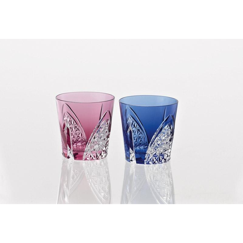 【送料無料】 カガミクリスタル ペア冷酒杯<折鶴> TPS481-2782AB