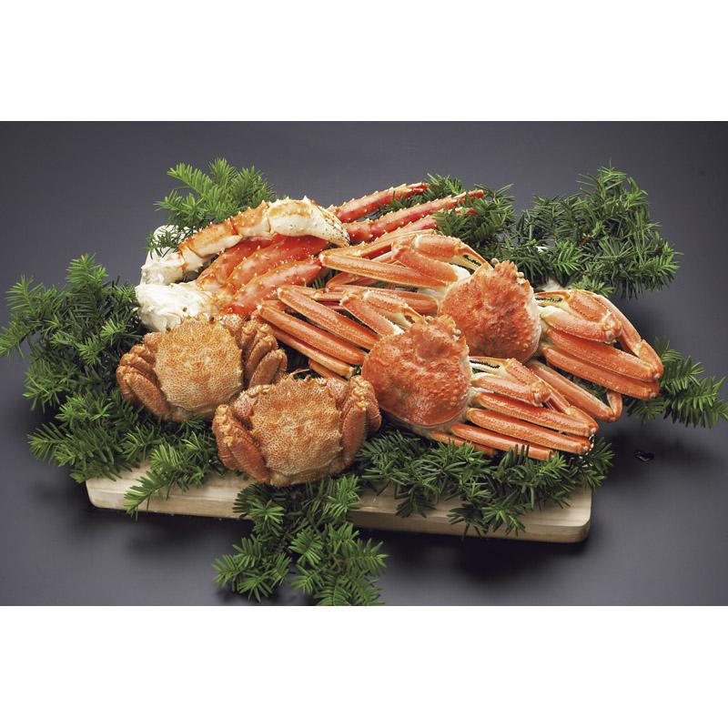 【送料無料】 新・三大茹で蟹セット 【食品 カニ たらば蟹 ずわい蟹 毛蟹 けがに 詰め合わせ つめあわせ 贅沢 ごちそう おいしい うまい お取り寄せ グルメ】[ty]