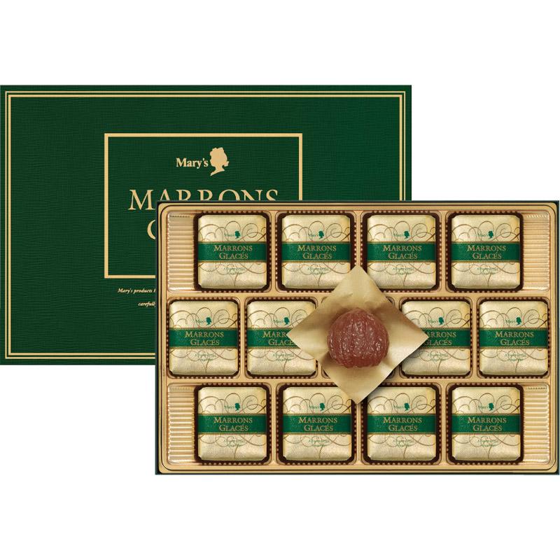 メリーチョコレート マロングラッセ  MG-S【お取り寄せ 詰め合わせ バレンタイン ランキング お土産 美味しい 贈り物 おすすめ お年賀 ギフト 内祝い 残暑見舞い お歳暮 贈答品 用  母の日 香典返し】[tr]