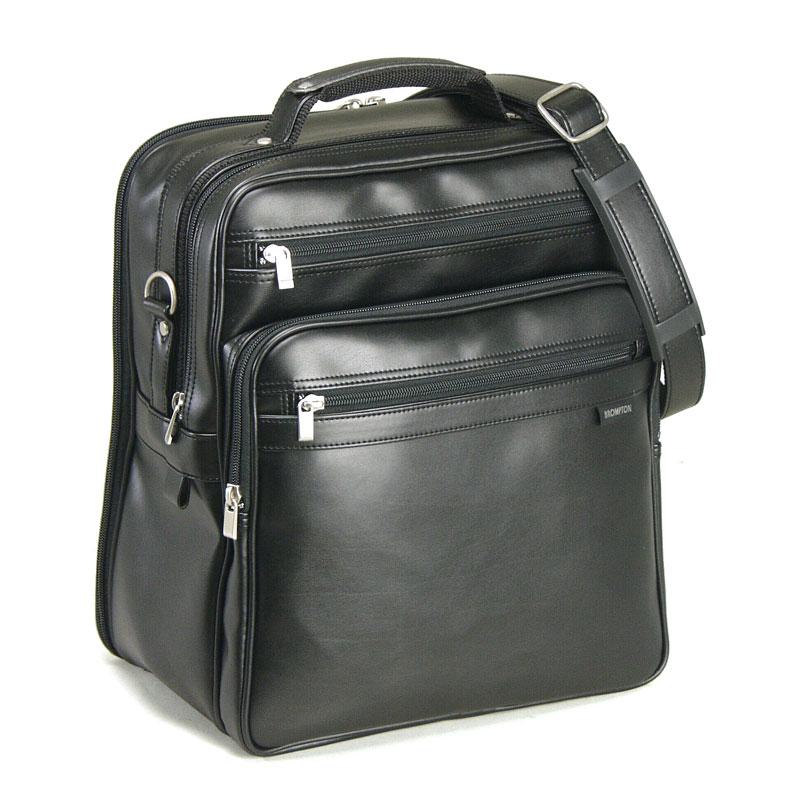 ショルダーバッグ メンズ A4F 斜めがけ 縦型 軽量 2室式 ダブルルーム ビジネスショルダーバッグ 日本製 豊岡製鞄 ショルダーバック 36cm 縦型 #16275