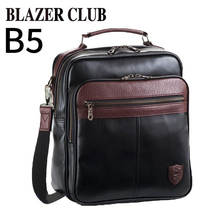 ショルダーバッグ メンズ 斜めがけ カジュアル 2way B5 ショルダーバック ブランド BLAZER CLUB #16412