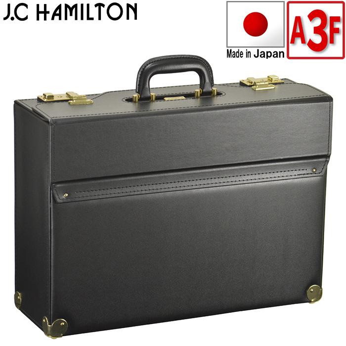 フライトケース パイロットケース メンズ A3ファイル B4 ビジネスバッグ アタッシュケース ブリーフケース 日本製 豊岡製鞄 47cm #20039
