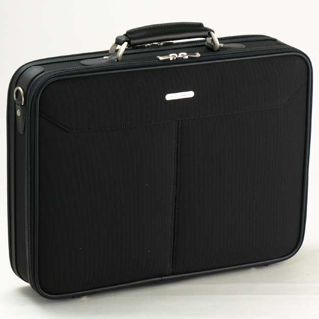 アタッシュケース B4ファイル A4 ビジネスバッグ ブリーフケース フライトケース パイロットケース メンズ 日本製 豊岡製鞄 2ルーム 2室式 #21122