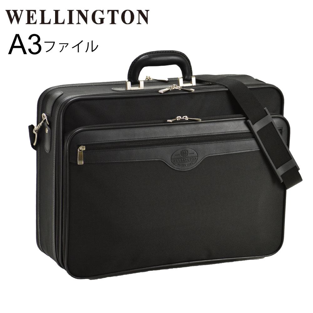 アタッシュケース A3 ビジネスバッグ ブリーフケース フライトケース パイロットケース メンズ 黒 かっこいい A3 B4 A4 48cm 2ルーム ハニカムフレームの採用で強度と軽さを両立 #21217