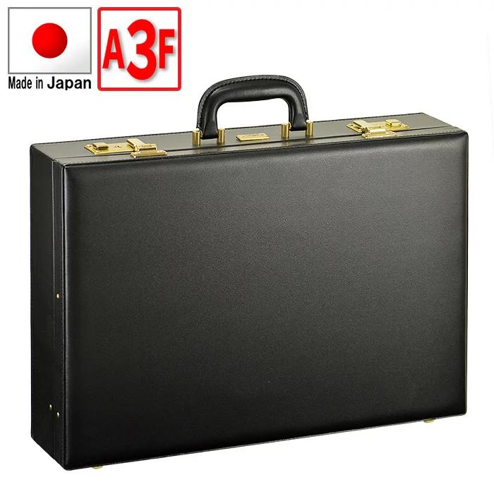 【送料無料】JCHアタッシュケース48cm【【ビジネス おしゃれ かっこいい A3 フライトケース パイロットケース A3ファイル 幅48cm 内寸45.5cm 日本製 鍵付き ブランド】