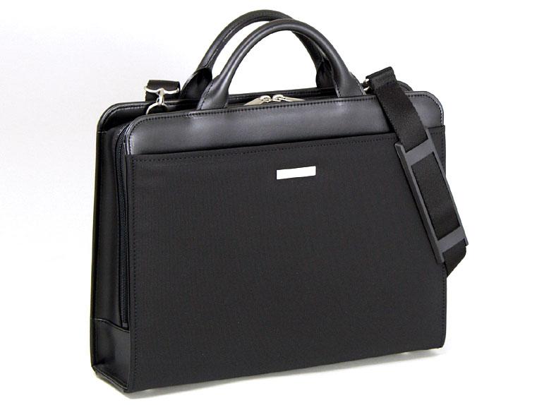 ビジネスバッグ B4 メンズ 2way ショルダー付き 軽量 ブリーフケース 40cm 日本製 豊岡製鞄 #22122