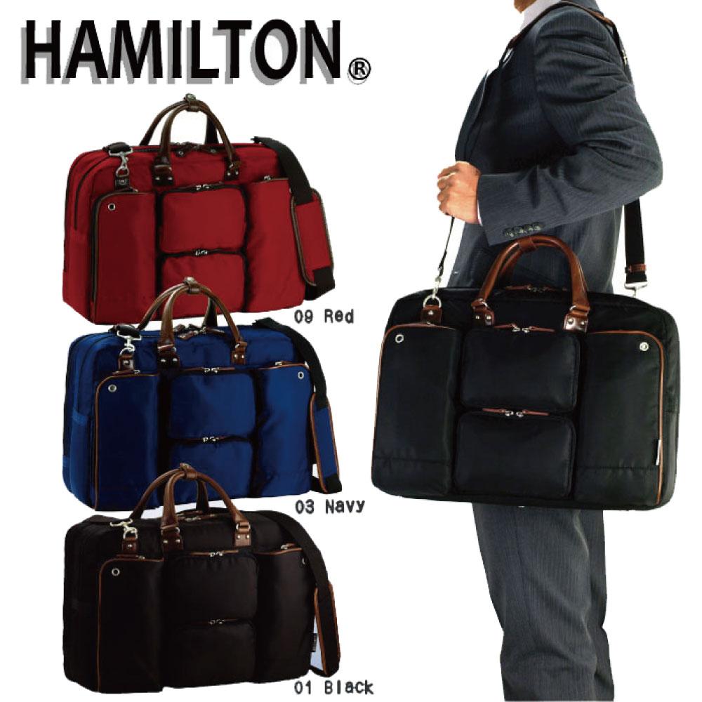 ブリーフケースカラー メンズ ビジネスバッグ B4F ハミルトン HAMILTON 45cm#26477