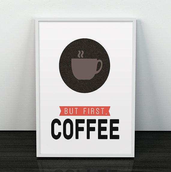 店内全品対象 Les Temps Modernesのポスター LES TEMPS MODERNES ◆セール特価品◆ COFFEE FIRST ポスター BUT アートプリント A3