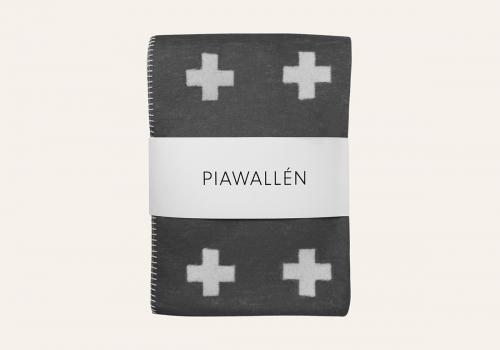 【ファッション通販】 PIA WALLEN   (grey) CROSS BLANKET (grey) CROSS     ブランケット サイズS, Life planning shop 美風空間:7d17a099 --- canoncity.azurewebsites.net