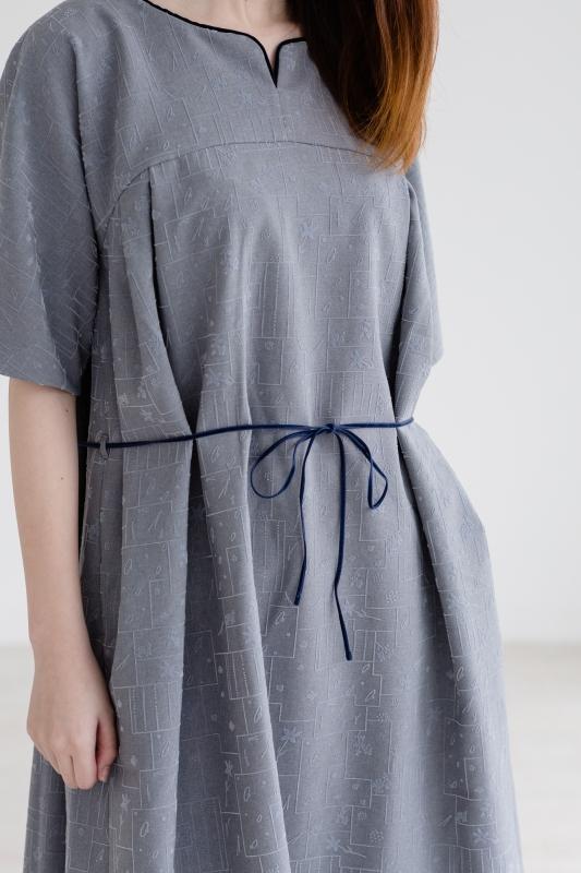 "rikolekt (リコレクト) | ""memoryscapes""DRESS (gray) | ワンピース"