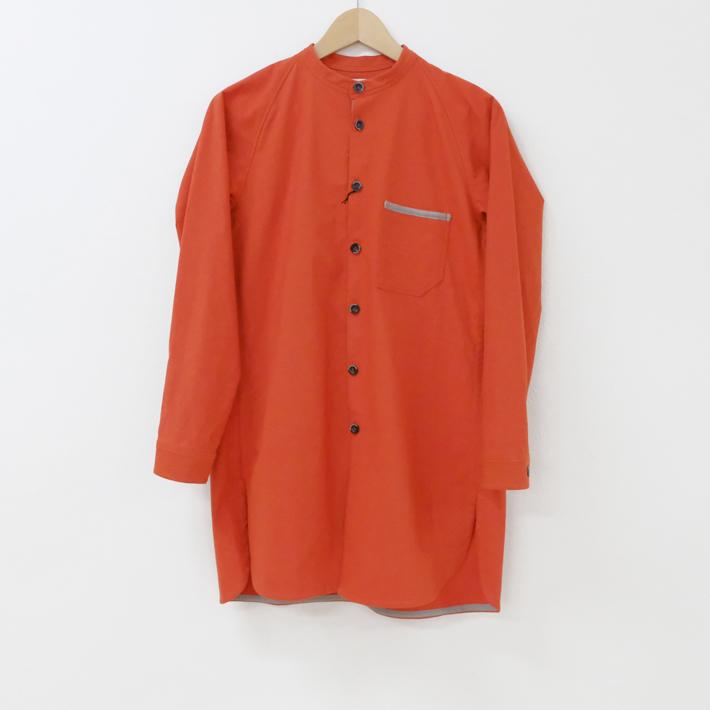 Hiroyuki Watanabe   リンリンロングシャツ (S size / orange)   トップス