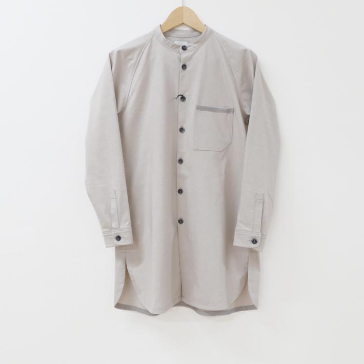 【SALE セール】Hiroyuki Watanabe | リンリンロングシャツ (S size / greige) | トップス