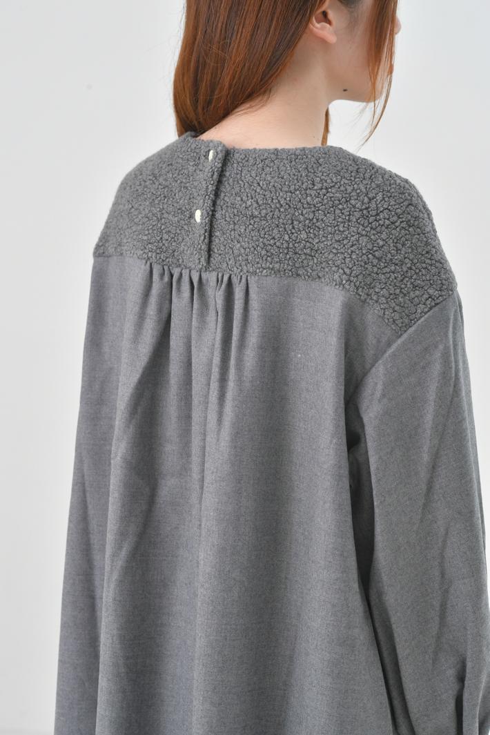 "【SALE セール】rikolekt (リコレクト) | ""relief""ワンピース (gray) | ワンピース"