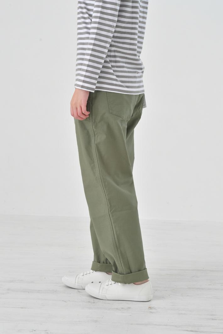 KELEN (ケレン) | Wide Straight Trouser