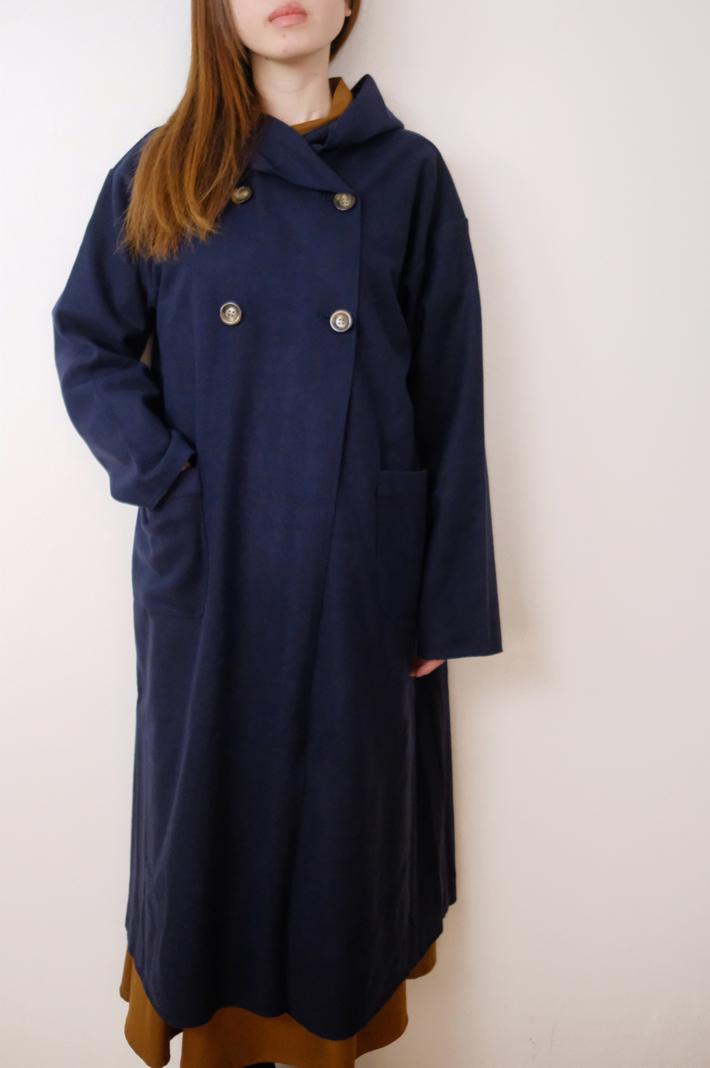 KELEN (ケレン) | Shawl Hood coat