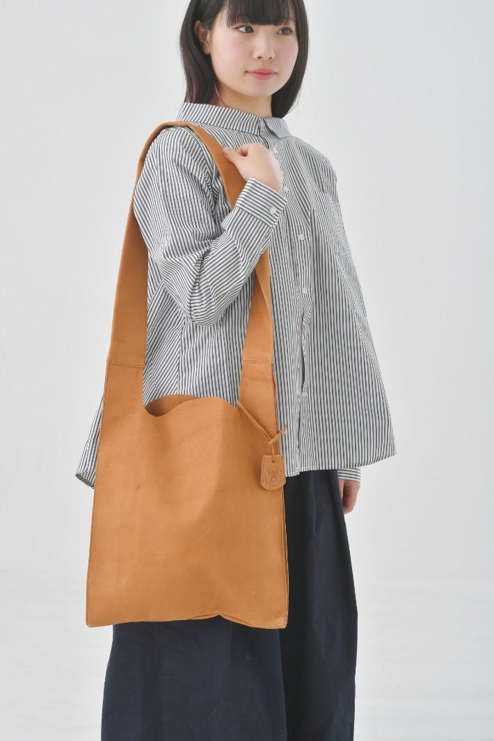 REN | ハリー・レジブクロショルダー (camel) | バッグ