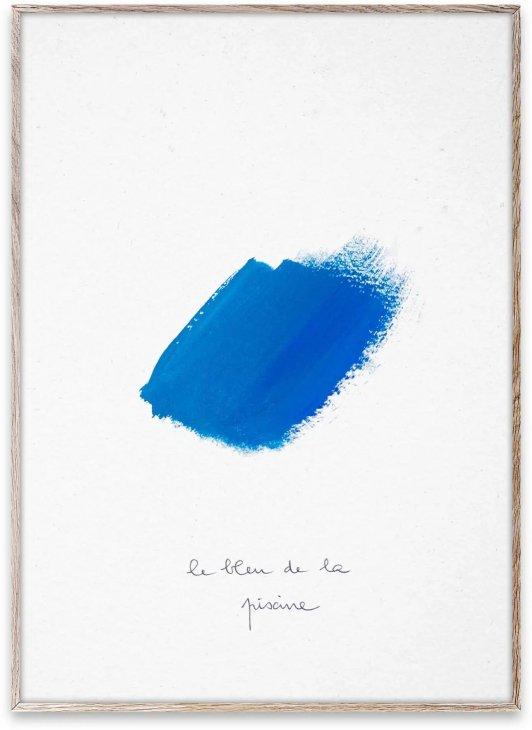 デンマーク コペンハーゲンのPaper Collectiveによるポスター コレクション PAPER COLLECTIVE LE BLEU インテリア 北欧 30x40cm アートポスター シンプル 激安価格と即納で通信販売 おしゃれ II アートプリント 美品