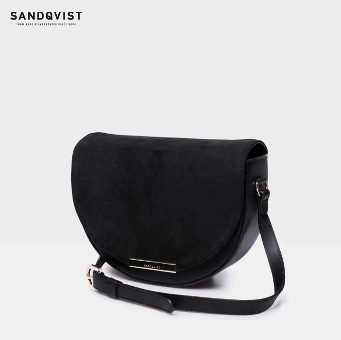 SANDQVIST | SELMA (black) | バッグ【サンドクヴィスト 北欧 スウェーデン シンプル おしゃれ ショルダー】