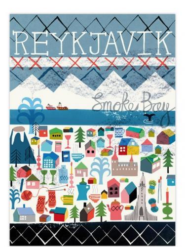 HUMAN EMPIRE | REYKJAVIK POSTER | Poster (50x70cm)