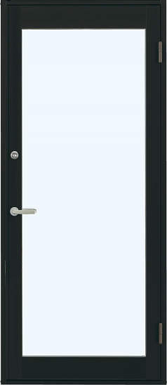 アルミサッシ 新品 YKK 店舗ドア 片開き 7TD 並行輸入品 W868×H2018 単板仕様 受注生産品