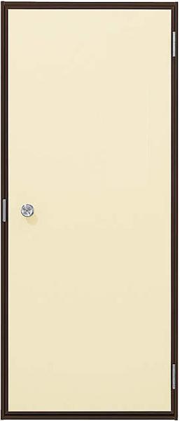 アルミサッシ YKK 半外付 勝手口 フラッシュドア W650×H1840 (65018) プレーンタイプ