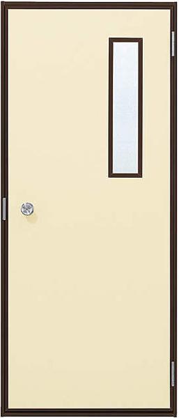 アルミサッシ YKK 内付 勝手口 フラッシュドア W796×H1840 (79618) 小窓付タイプ