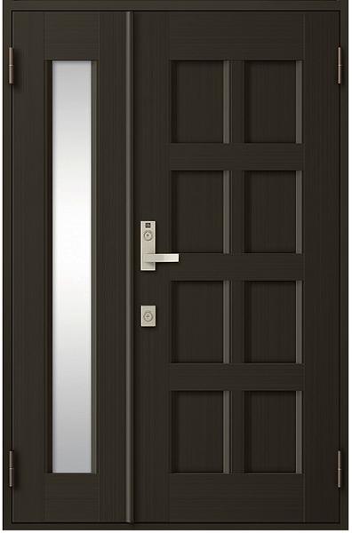 アルミサッシ トステム 玄関ドア クリエラR 半外付 親子 10型