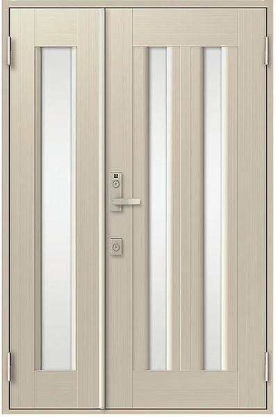 アルミサッシ トステム 玄関ドア クリエラR 半外付 親子 17型