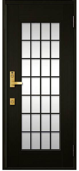 アルミサッシ トステム 玄関ドア クリエラR 半外付 片開き 14型