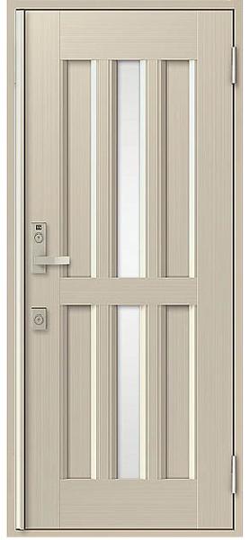 アルミサッシ トステム 玄関ドア クリエラR 半外付 片開き 15型