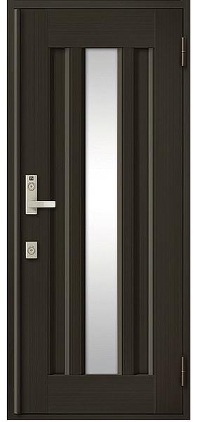 アルミサッシ トステム 玄関ドア クリエラR 半外付 片開き 16型