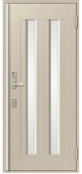 アルミサッシ トステム 玄関ドア クリエラR 半外付 片開き 17型